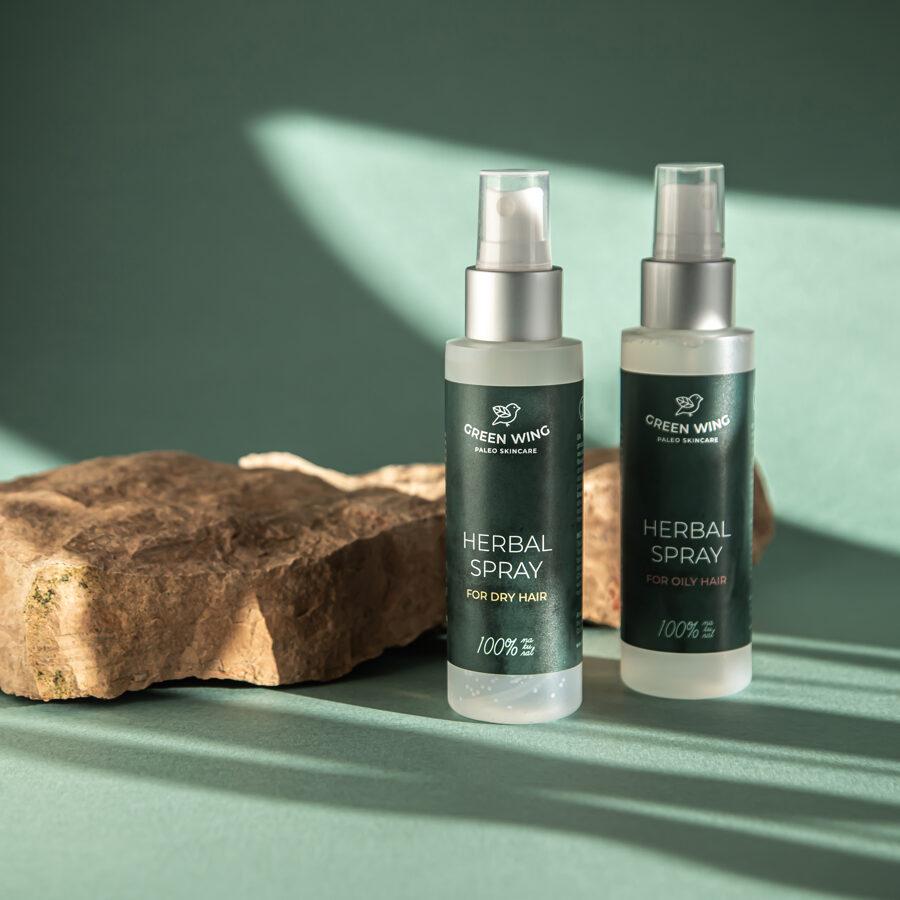 Herbal Spray for Dry Hair, 100 ml