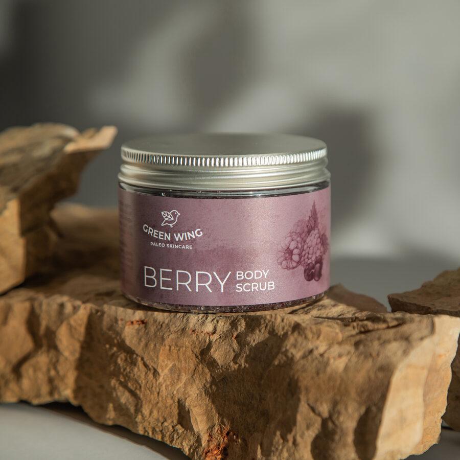 Berry Body Scrub, 200 g